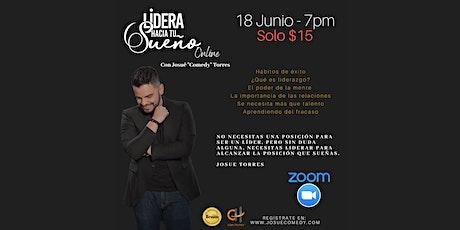 Lidera Hacia Tu Sueño (Online) bilhetes