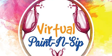 Virtual Paint and Sip: June's  Sunset tickets