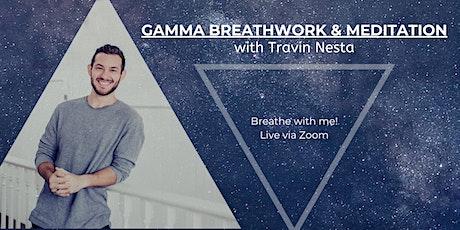 Gamma Breathwork Experience - Weekly Online Via Zoom tickets