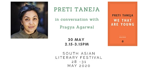 South Asian Literary Festival: In conversation with PRETI TANEJA tickets