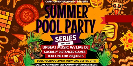 Summer Pool Party Series tickets