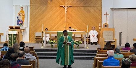Weekend Mass Registration at St. John Bosco tickets