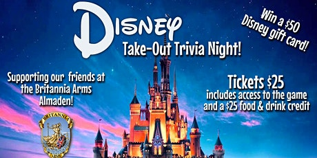 Disney Take Out Trivia Night! tickets
