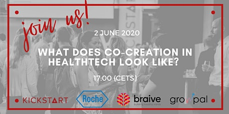 Kickstart in conversation with Roche and Braive on HealthTech Innovation tickets