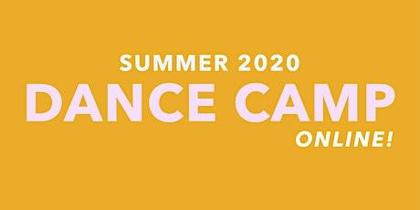 SUMMER 2020  HATCHERY TEEN DANCE CAMP tickets