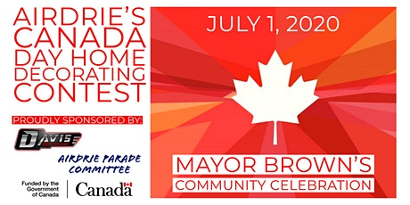 Airdrie's Canada Day Home Decorating Contest tickets