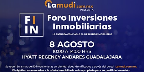Foro de Inversiones Inmobiliarias Guadalajara tickets