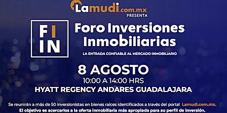 Foro de Inversiones Inmobiliarias Guadalajara boletos