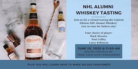 Virtual NHL Alumni Whiskey Tasting tickets