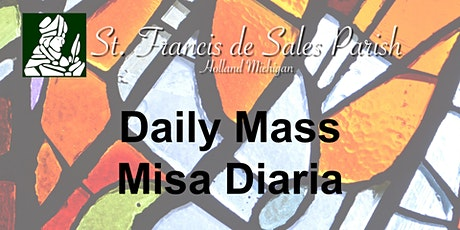 Tuesday Daily Mass (English) tickets