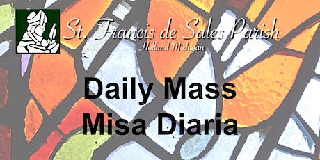 Thursday Daily Mass (English) tickets