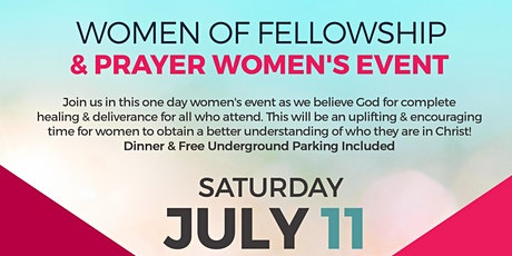 Women of Fellowship & Prayer Women's Event tickets