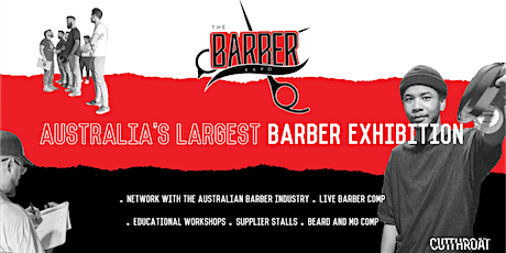 The Barber Expo - Brisbane  - Postponed tickets
