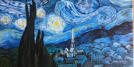 Chill & Paint Night  Auck City Hotel  - Starry Night - Van Gogh inspired tickets