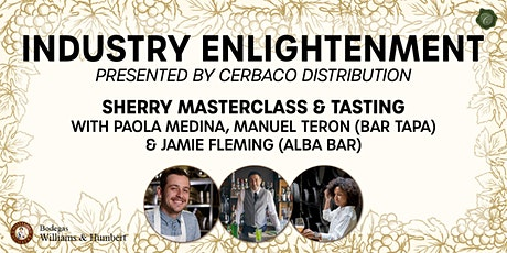 Sherry Masterclass - Industry Enlightenment tickets