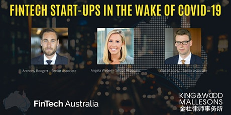 Fintech start-ups in the wake of COVID-19 tickets