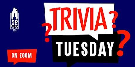 Trivia Tuesday's tickets
