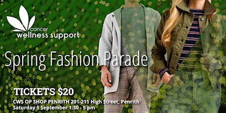 Spring Fashion Parade at Penrith Valley Op Shop tickets