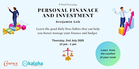 Personal Finance and Investment  (Online Session) tickets