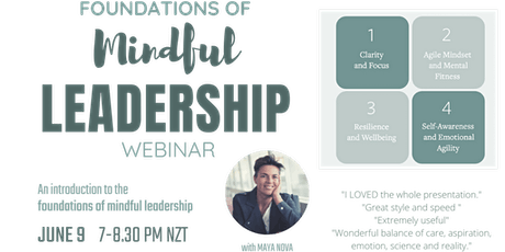 Foundations of Mindful Leadership tickets