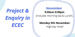 Projects & Inquiry in ECE