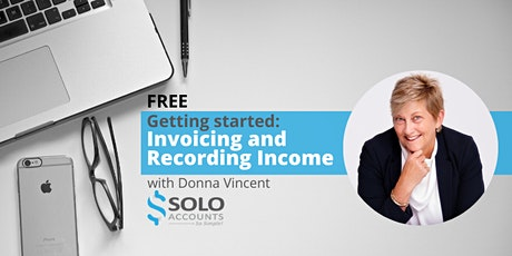 Getting started with Solo Accounts:  Invoicing and Recording Income tickets