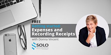Getting started with Solo Accounts:  Expenses and Recording Receipts tickets