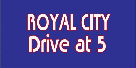 RCD5 - Tickets Sales Moved to Royal City Drive at 5 tickets
