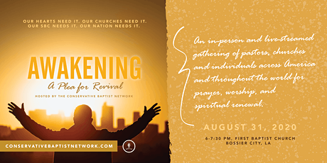 Awakening Prayer Gathering: A Plea for Revival tickets