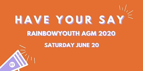 RainbowYOUTH AGM 2020 tickets