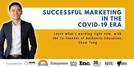 Successful Marketing In The Covid-19 Era - Online Event (June 1) tickets
