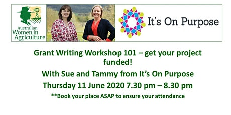 Grant writing 101 - get your project funded tickets