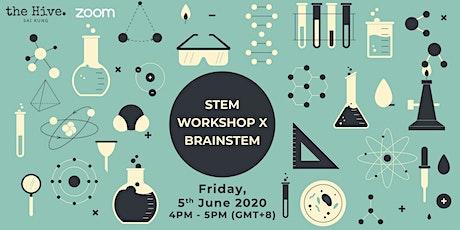 Online: STEM Workshop x BrainSTEM tickets
