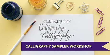Calligraphy 101 for Self Care: Begin w/ Confidence, Clarity+ Multiple Tools Tickets