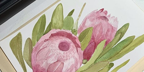 Introduction to Watercolour Class - Flora and Fauna tickets