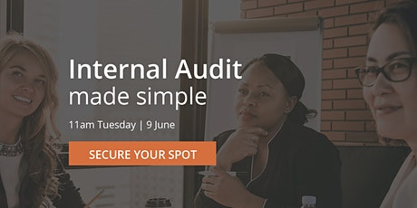 Internal Audit made simple tickets