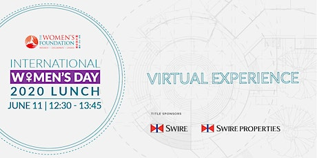 International Women's Day Lunch 2020 - Virtual Experience tickets