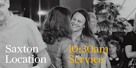 Annesbrook Saxton - 10:30am Service tickets