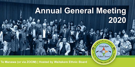 Waitakere Ethnic Board AGM 2020 tickets