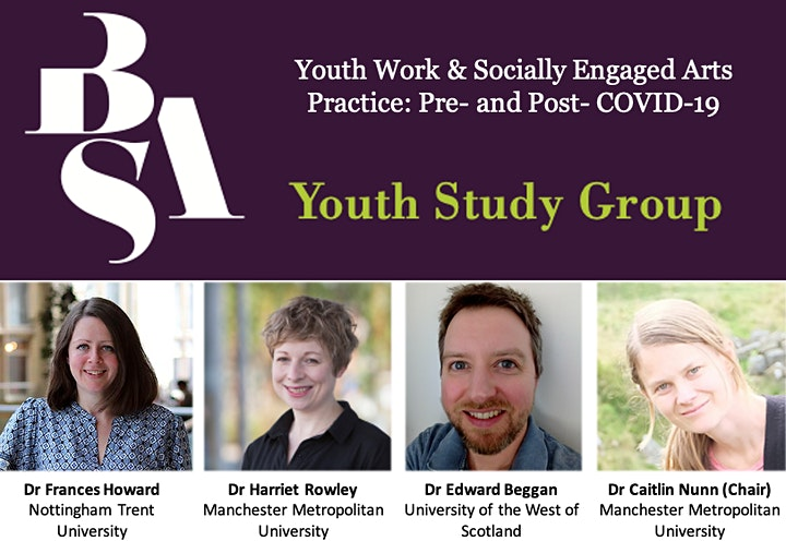 Youth Work and Socially Engaged Arts Practice: Pre- and Post- COVID-19 image