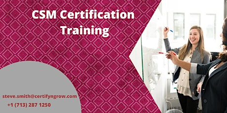 CSM 2 Days Certification Training in Boston, MA,USA tickets