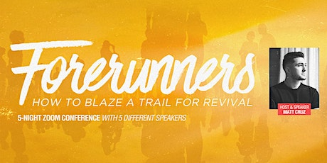 Forerunner Generation Conference - 5 nights 8 sessions tickets