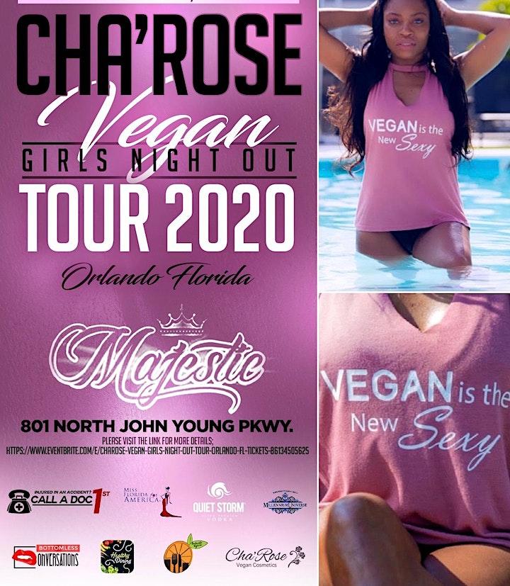 Cha'Rose Vegan Girls Night Out Tour - Orlando, FL image