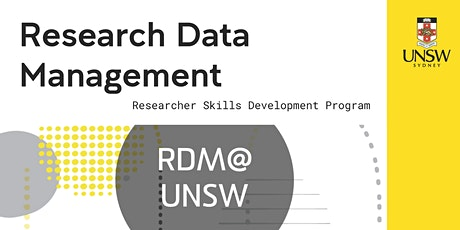 Research Data Management tickets
