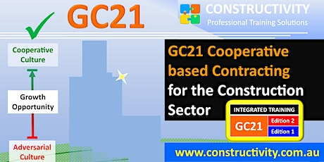 GC21 COOPERATIVE BASED CONTRACTING (Zoom VIDEO-CONFERENCE Live FACE-TO-FACE Training) for the Construction Sector - 6 July 2020 tickets