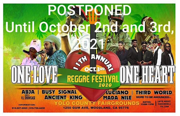 One Love One Heart Reggae Festival 2021 image