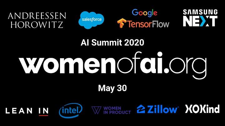 WomenOfAI.org AI Summit 2020 image