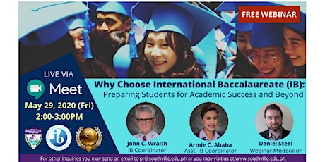 Why choose IB: preparing students for academic success and beyond tickets
