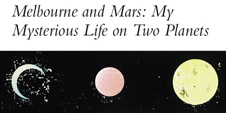 Melbourne and Mars book launch tickets