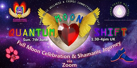Quantum Moon Shift- Full Moon Celebration & Shamanic Journey tickets